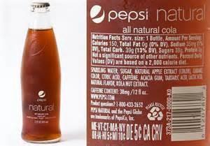 natural pepsi